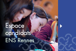 Espace candidats / admis